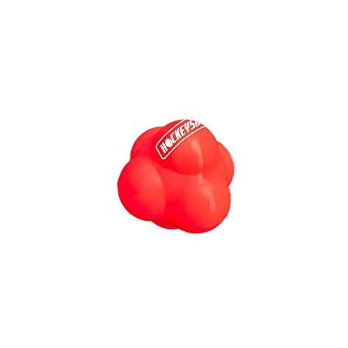 HockeyShot Reaction Ball for Hand-Eye Coordination and Reflex Building with 6 Sides