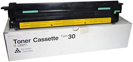 Savin Toner, Type 30, for 2500/3000/3100L/3200L Fax Machines, 170g bottle 4312 / SAV4312