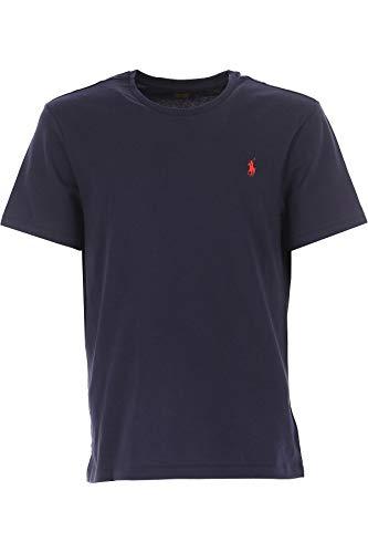 Ralph Lauren Hombre 710680785004 Azul Algodon T-Shirt