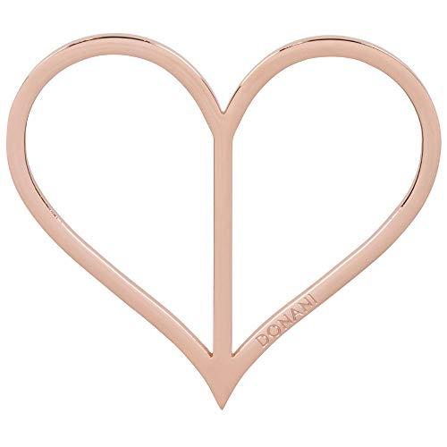 Donani Dirndlspangerl rustikales Herz rosegold Dirndlschmuck Damen