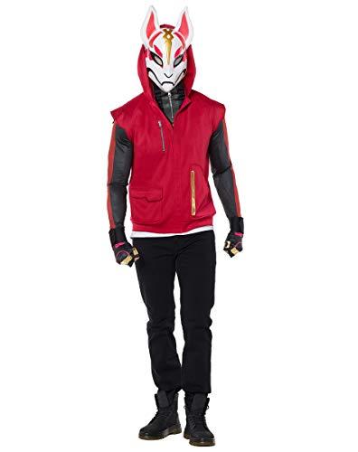 Spirit Halloween Adult Drift 2-Fer Fortnite Costume   Officially Licensed