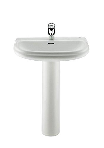 Roca A331325001 - Pedestal para lavabo de porcelana
