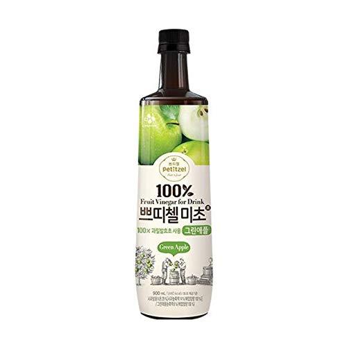 韓国で定番の飲むお酢【プティチェル美酢グリーンアップ】(900ml)