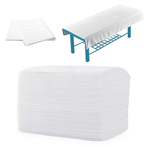 Cheruje Disposable Ded Sheets 20PCS Spa Bed Sheets 30