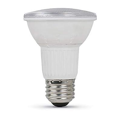 "Feit Electric PAR20/ADJ/930CA 50W Equivalent 6 Watt Dimmable BeamChoice LED PAR20 Reflector Bulb, 4.5"" H x 2.5"" D, 3000K Bright White"