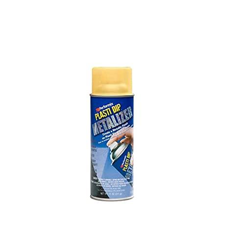 Finition peinture aérosol Plasti Dip métallisée or 400ml