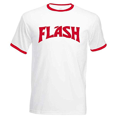 Flash Gordon Camiseta Retro Años 80camiseta, Camiseta Blanco Blanco L