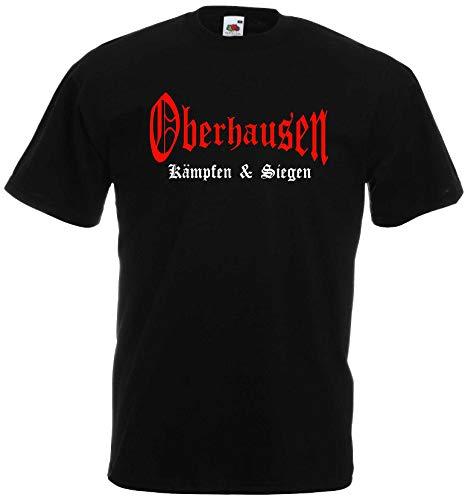 World of Shirt Herren T-Shirt Oberhausen kämpfen und Siegen