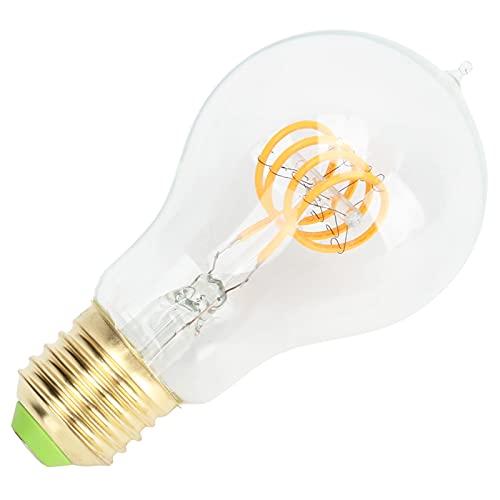 Lampadina a filamento, buon effetto luce Lampadina LED Design dimmerabile per utensili elettrici per parti di lampade per lampade per uso domestico per parti di lampade per esterni(trasparente, rosa)