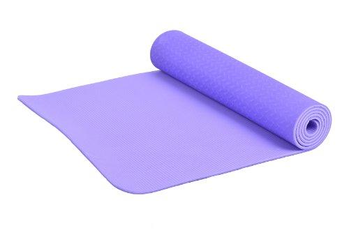 FA Sports Yogiplus, Stuoia di Yoga Unisex Adult, Viola, 183 x 61 x 0.6 cm