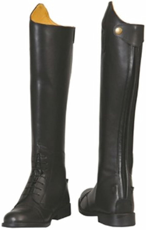 TuffRider Women's Baroque Field Short Boots, Black, 65 Slim [Apparel]