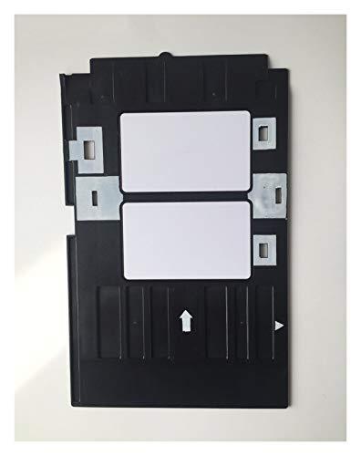 XDTLD Tarjeta de identificación de PVC Bandeja de plástico Bandeja de impresión de Tarjetas for Epson R260 R265 R270 R280 R290 R380 R390 RX680 T50 T60 A50 P50 L800 L801 R330 Piezas de Repuesto