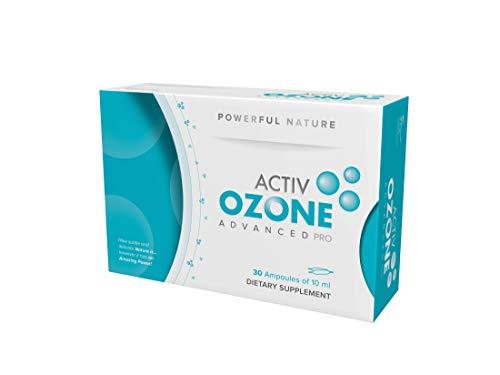 Activozone Advanced Pro Suplemento Dietético - 30 Ampollas de 10 ml, Total: 300 ml
