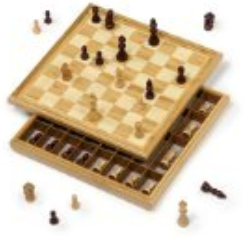 Dal black Chess Set - 36cm, Bamboo by Dal black