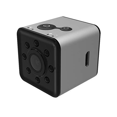 CYYMY Mini Action Cam 1080p,Hyper Stabilizzazione Videocamera, Anti Shake Elettronico,Supporta Le Riprese Time Lapse,Fotocamera Impermeabile,Obiettivo Grandangolare 155 °,3