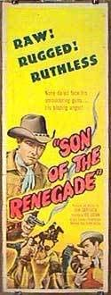 2021 new Year-end annual account Son Of The Renegade - Insert Movie 14x36 Authentic Original