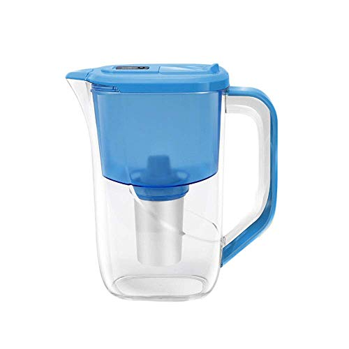 Alkaline Water Filter Jug Hoogste Filtratieresultaten Huishouden Ketel Filter Kettle Kraan Water Purifier 2.5L Resin Filter Net Kettle Non-Drinken, Three-Stage Filtratie