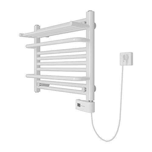 YXYY Toallero eléctrico de Pared, Temperatura Constante, Blanco, 300 W, 50x60x23cm, radiador de baño, Apto para baño, Cocina (Color: Derecho)