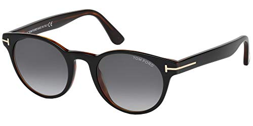 Tom Ford Unisex-Erwachsene FT0522 05B 49 Sonnenbrille, Schwarz (Nero)