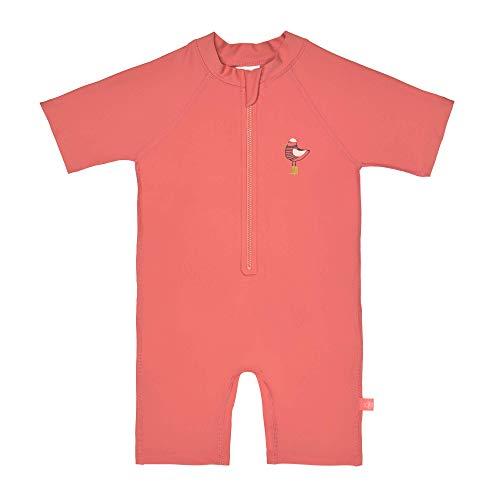 LÄSSIG Sonnenanzug Camisa de protección de Sarpullido, Mrs. Seagull Coral, 24 Meses Unisex bebé