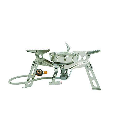 Fire-Maple windsicherer, Faltbarer Campingkocher aus Edelstahl und Aluminium mit Vorheizsystem 3650 Watt, FMS-123
