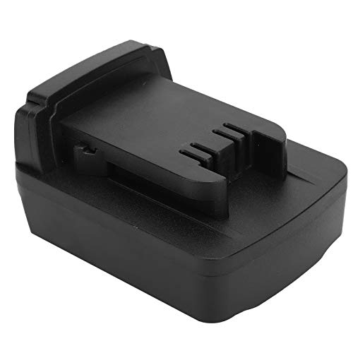 Adaptador de batería, cargador de batería duradero para herramientas eléctricas, no se cae Adaptador de batería Seguro Confiable para taladro Conversión de batería de litio Dewalt