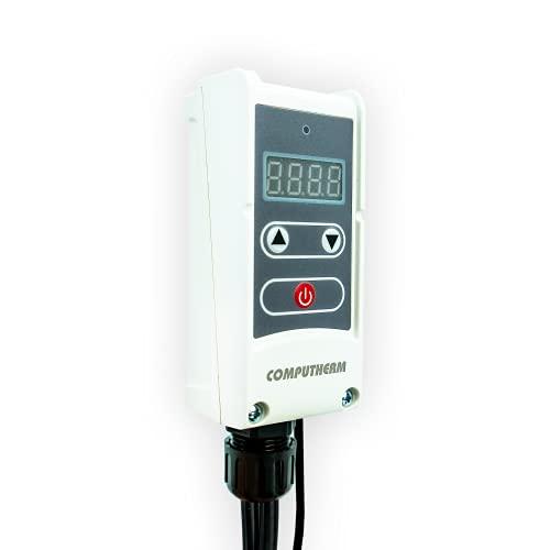 COMPUTHERM Tauchthermostat WPR-100GC, Thermostat mit Tauchhülse & Fernfühler, Thermostatregler für Heizungsanlagen, invasive Messung für exakte Werte, Überwachung von Heizkreisen