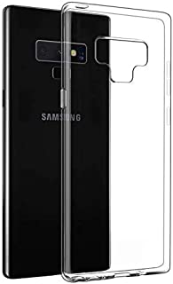 Samsung Galaxy Note 9 Case Cover TPU Silicone Soft Thin Back Case For Galaxy Note 9 Clear Cover (CLEAR) by Nice.Store.UAE