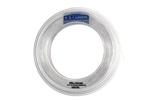 Yo-Zuri H.D. Carbon Fluorocarbon Leader Line, Clear, 20-Pound/30-Yard