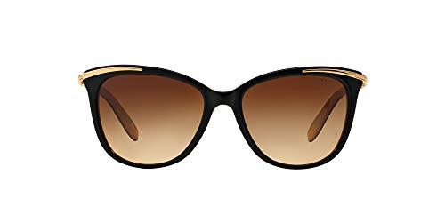 Óculos de Sol Ralph by Ralph Lauren RA5203 109013 Preto Nude Lente Marrom Degradê Tam 54