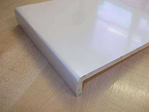 Fensterbank, Kunststoff, PVC, UPVC, 200 mm breit, 1 m, Weiß
