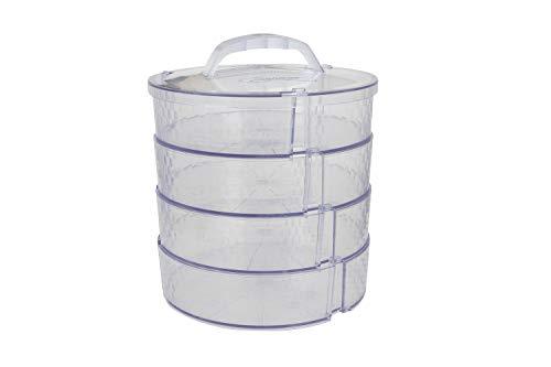 Pie Saver Carrier Set - Food Travel, Storage, Tray