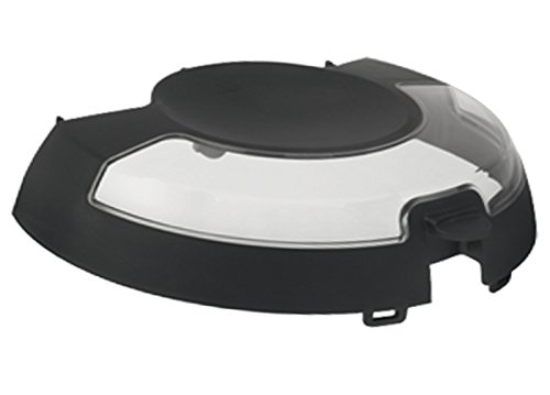 An image of the SPARES2GO Black Lid Cover for Tefal GH8062 AL8062 Actifry Fryer