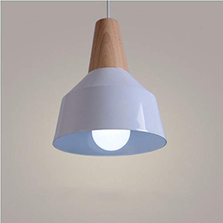Oudan Pendelleuchte Kronleuchter Restaurant Licht Deckel Einfacher Kopf Einfach Wei 23 cm