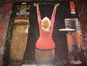 A Drum is A Woman Duke Ellington & His Orchestra on the Columbia (reissue) records label, JCL 951