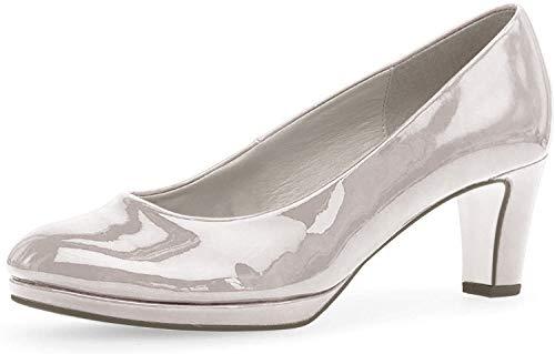 Gabor Platform Court Shoe - Figaro - 21.260 5 S/Grey PAT