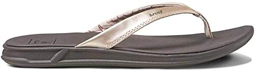 Reef Women's Sandals Rover Catch | Water-Friendly with Signature Swellular Technology for Instant Comfort and Durability, Champagne, 8