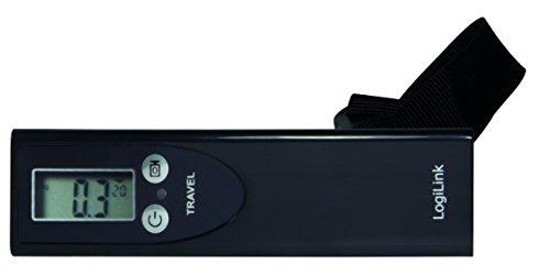 LogiLink LW0001 Kofferwaage LCD Display, bis zu 50kg, automatische Nullrückstellung Ausschaltung