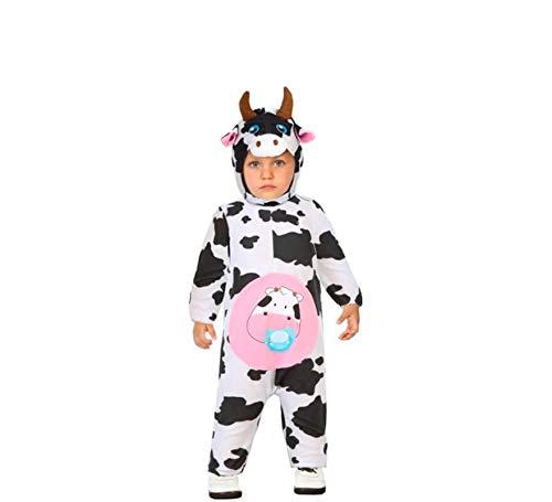ATOSA disfraz vaca niña bebé 12 a 24 meses