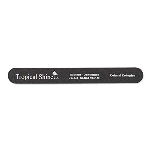 Tropical Shine Coarse Black Colossal Nail File