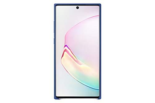 SAMSUNG (EF-VN975) - Cover in pelle per Galaxy Note10+, 5 g, colore: Blu