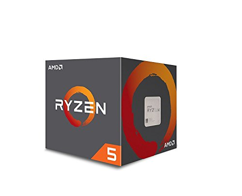 AMD CPU Ryzen5 1400 with Wraith Stealth 65W cooler AM4 YD1400BBAEBOX