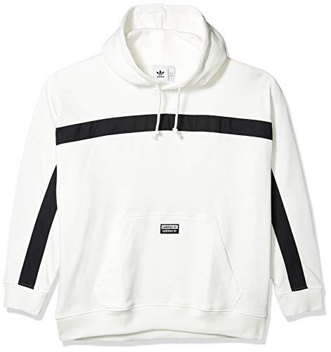 adidas Originals Sudadera con capucha para hombre - blanco - Small