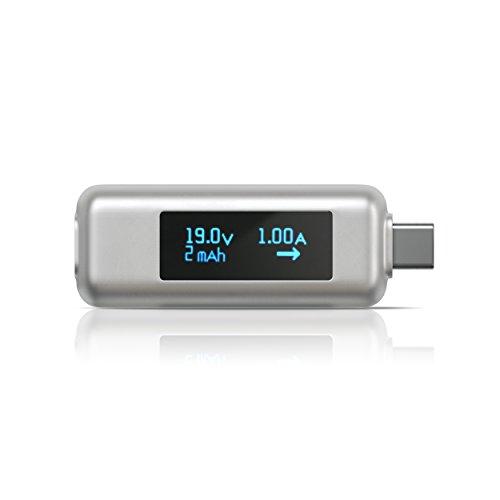 『Satechi USB-C パワーメーターテスター 電圧・電流チェッカー (MacBook Pro/MacBookAir 2018以降, MacBook 2015以降/iPad Pro, iMac 2017以降, Microsoft Surface Go など対応)』のトップ画像
