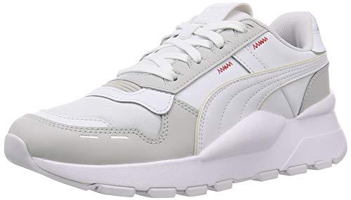 Puma Rs 2.0 Base, Unisex-Erwachsene , Dampfiges Grau-Puma-Weiß, 37 EU (4 UK)