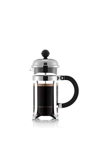 Bodum chambord Kaffeebereiter French Press System, Auslaufschutz, Edelstahlrahmen