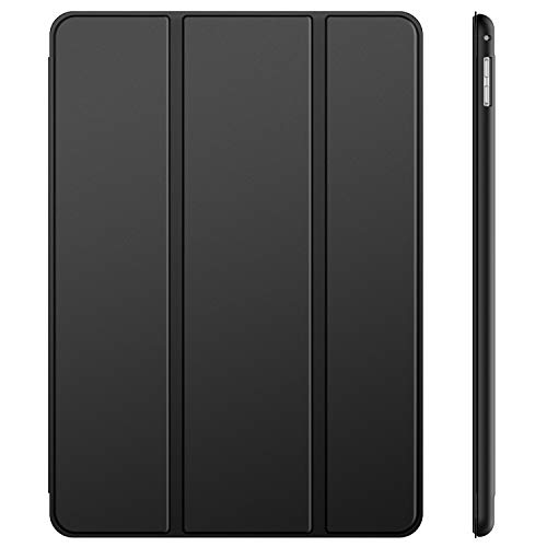 JETech Case for iPad Pro 12.9 Inch (1st and 2nd Generation, 2015 and 2017 Model), Auto Wake/Sleep (Black)