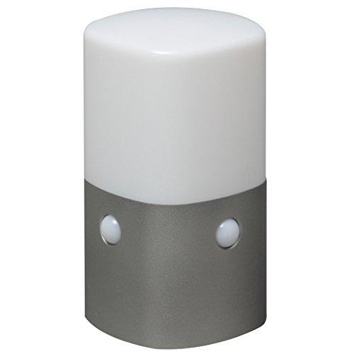 アイリスオーヤマ 屋外センサーライト スタンドタイプ 角型 電球色 OSL-ML2K-WS