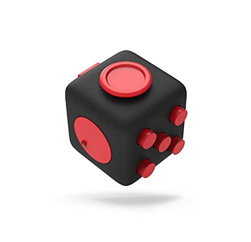 Amarion Fidget Toy Würfel für Erwachsene und Kinder - Handtrainer - Toller Anti Stress Pad als Stresskiller Spielzeug - Entspannungs Gadgets für Männer & Frauen - Stress Toy Geschenk