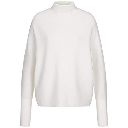 Drykorn Rollkragen-Pullover Liora aus Wolle M Creme